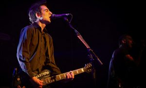 Justin Sane of ANTI-FLAG @ Venue © Kameko Walker
