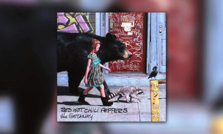 Red Hot Chili Peppers - Dark Necessities from The Getaway 2016 album cover