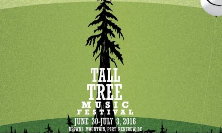 Tall Tree Music Festival 2016 in Port Renfrew