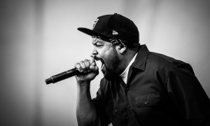 Ice Cube performing at Pemberton 2016 © Scott Douglas Hemenway