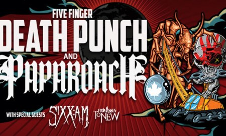 five finger death punch abbotsford centre 2016 poster