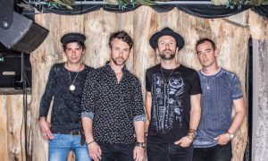 The Trews promotional photo 2016