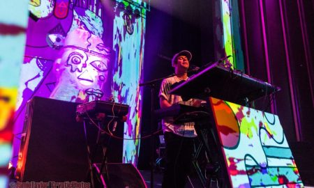 Animal Collective at The Vogue Theatre in Vancouver, BC on September 27th 2016