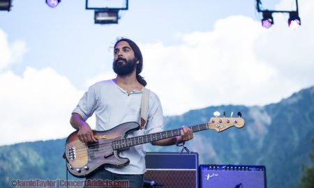 Payam Doostzadeh of Young The Giant @ Pemberton Music Festival 7/19/2014