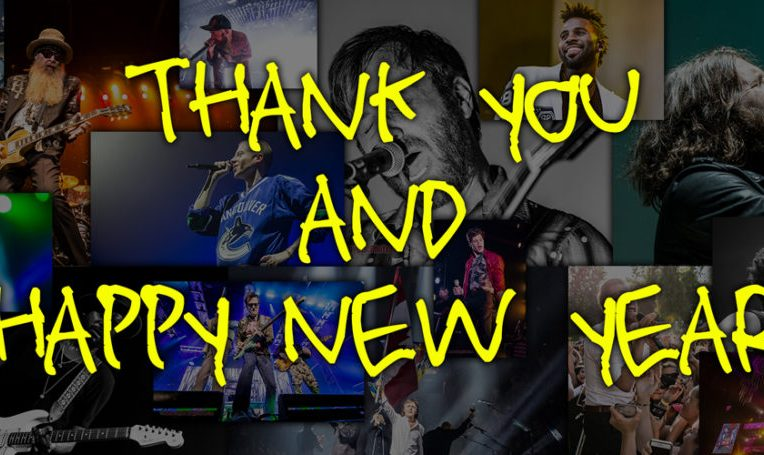 thank you happy new year from concertaddicts 2016