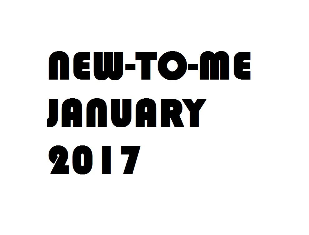 new to me january 2017