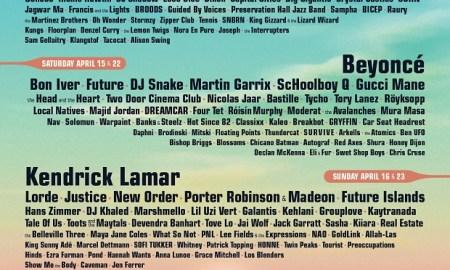 coachella festival 2017 lineup poster