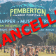 pemberton music festival bankruptcy cancelled gone 2017