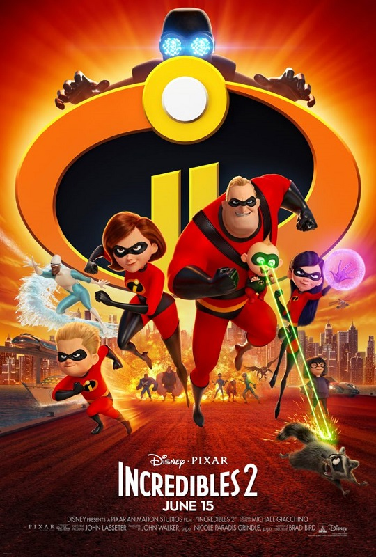 Incredibles 2 [2018] movie poster - Official Trailer #1