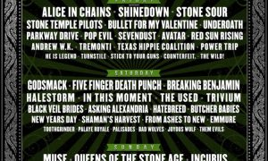 Monster Energy Carolina Rebellion 2018 lineup poster