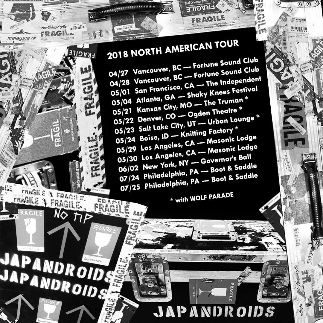 Japandroids ,2018