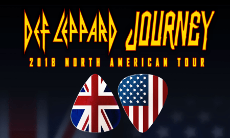 Def Leppard + Journey 2018 tour