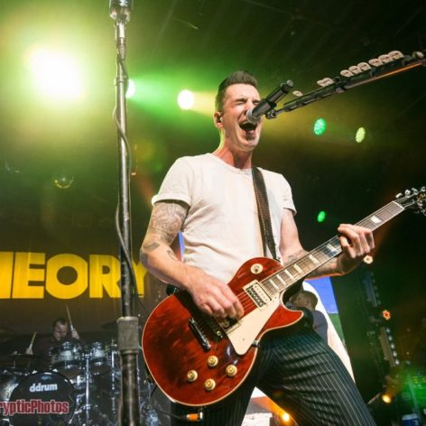 Tyler Connolly of Theory of a Deadman at The Commodore Ballroom in Vancouver, BC on February 26th 2018
