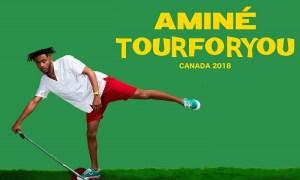 Amine tour for you canada 2018 Aminé