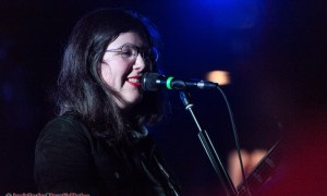 Lucy Dacus performing at The Biltmore Cabaret in Vancouver, BC on March 27th 2018