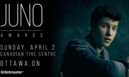The JUNO Awards 2016 at Canadian Tire Centre - April 02nd, 2017