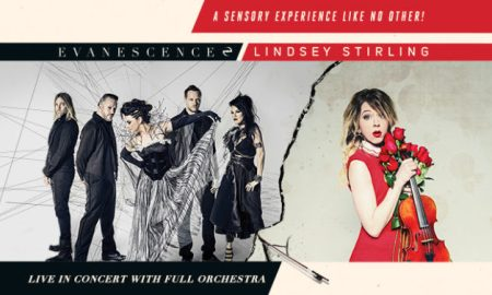 Evanescence And Lindsey Stirling Announce North American Co-headline Tour