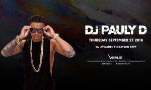 DJ Pauly D at Venue Nightclub