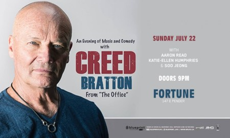 "Creed Bratton (from ""The Office"") at Fortune Sound Club"