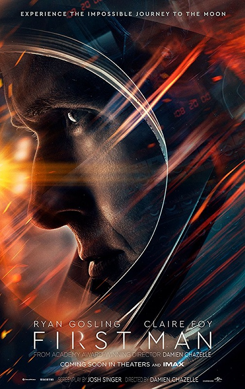 first man 2018 movie poster - October 12th, 2018