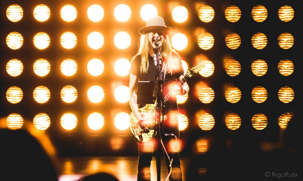 photos of American rock band Alice in Chains performing at the Queen Elizabeth Theatre in Vancouver, BC on August 22nd, 2018