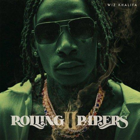 Wiz Khalifa rolling papers II cover art 2018