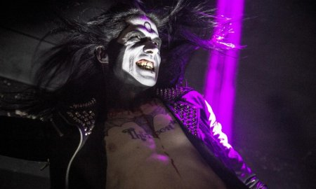Joseph Michael Poole of Wednesday 13 performing at Limelight in Belfast, Ireland on August 8th 2018