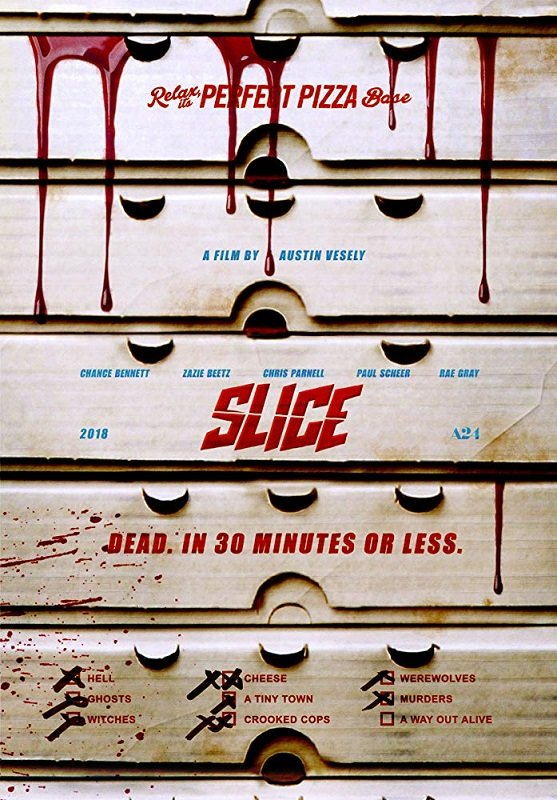 Slice [2018] movie poster - horror comedy