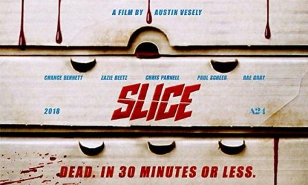 Slice [2018] movie poster - horror comedy