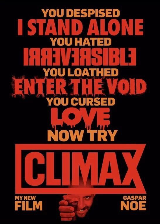 Climax [2018] - Official Trailer #1