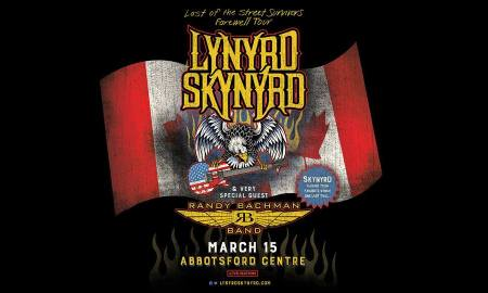 """Last of the Street Survivors Farewell Tour"" ft. Lynyrd Skynyrd + Randy Bachman at Abbotsford Centre"