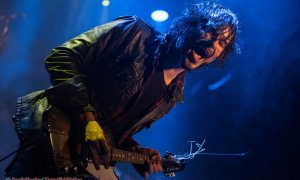 Musician Jordan Cook of Reignwolf at The Commodore Ballroom in Vancouver, BC on November 6th, 2018