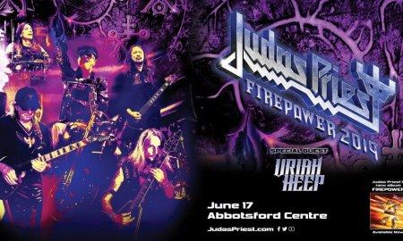 """Firepower Tour"" ft. Judas Priest + Uriah Heep @ Abbotsford Centre - June 17, 2019"