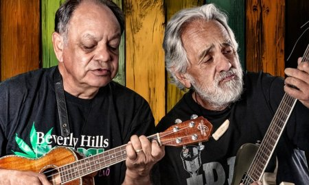cheech and chong 2018 promo photo guitar marijuana stoned
