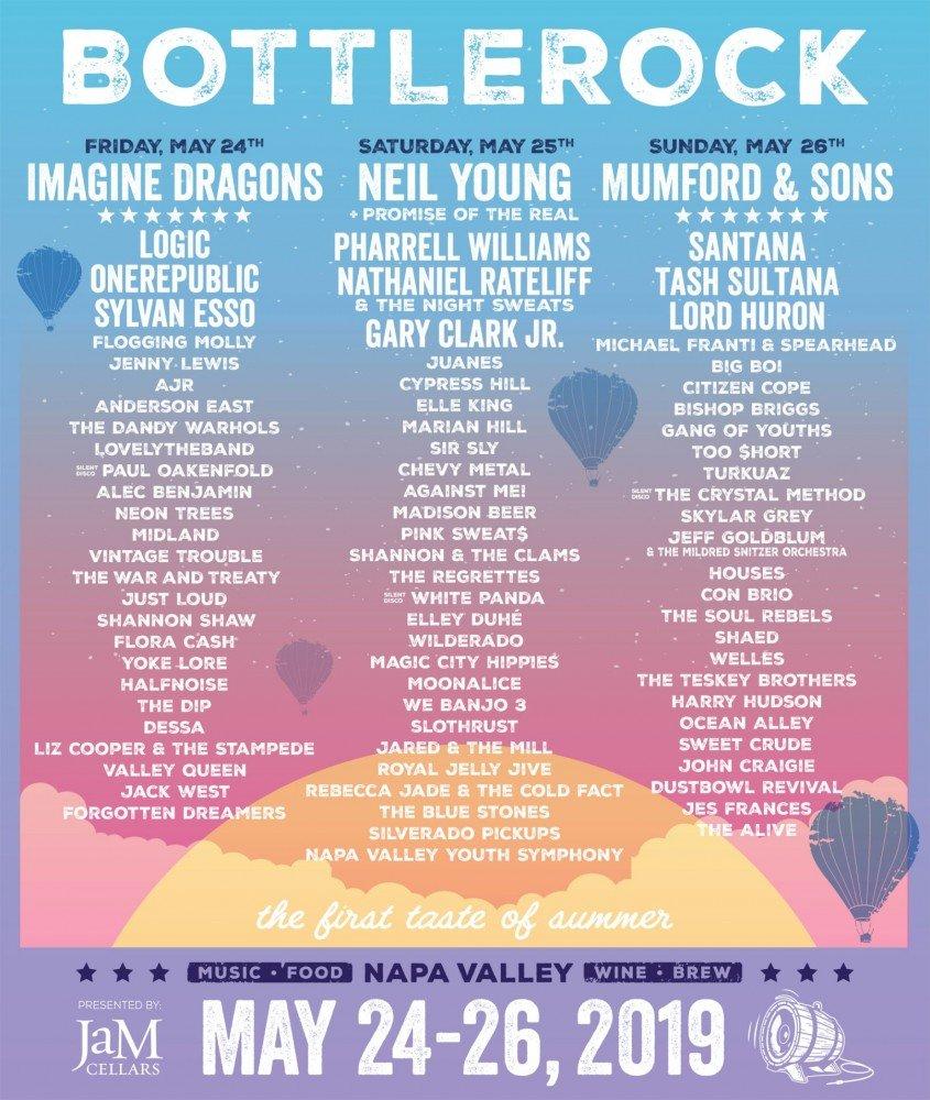 BottleRock Napa Valley 2019 at Napa Valley Expo (California)