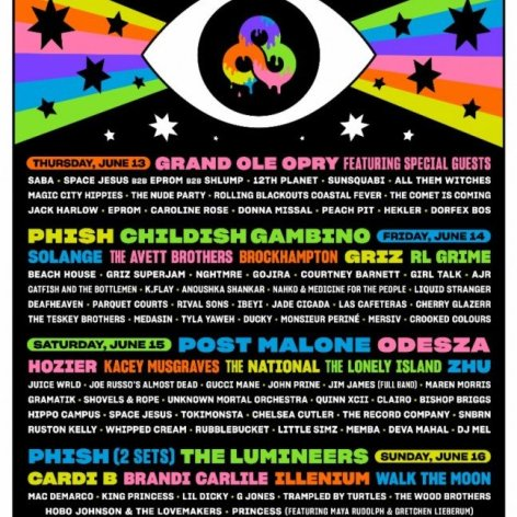 Bonnaroo Music and Arts Festival 2019 at Great Stage Park (Tennessee)