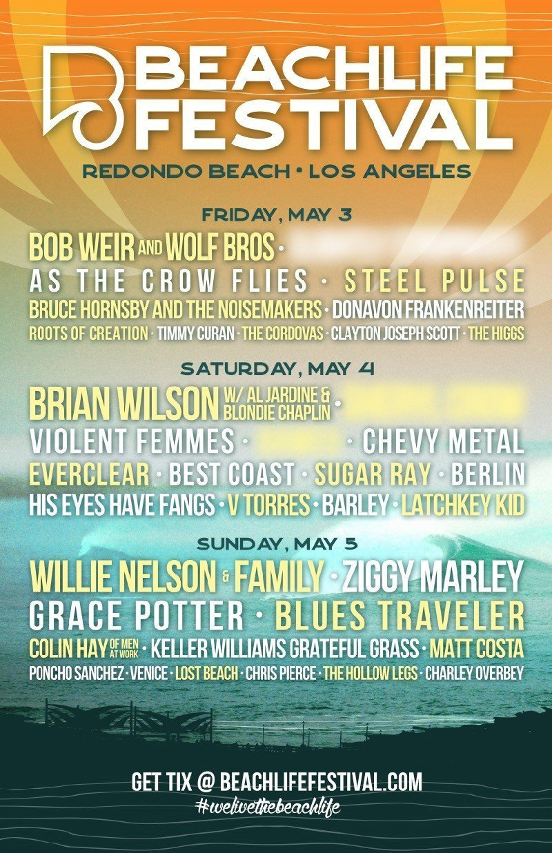 BeachLife Festival 2019 at Redondo Beach (California) - May 3rd, 2019