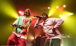 American rappers Wiz Khalifa and Curren$y performing at The Commodore Ballroom in Vancouver, BC on February 9th 2019