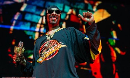 American rapper Snoop Dogg performing at Rogers Arena in Vancouver, BC on February 22nd, 2019