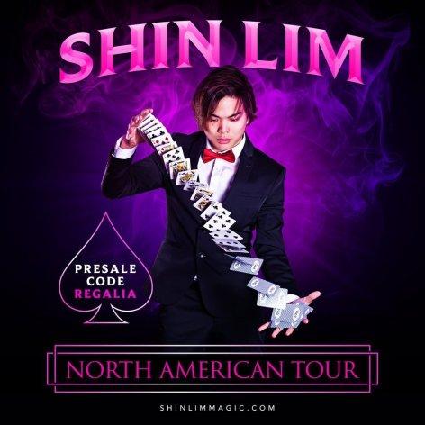 shin lim north american tour poster 2019