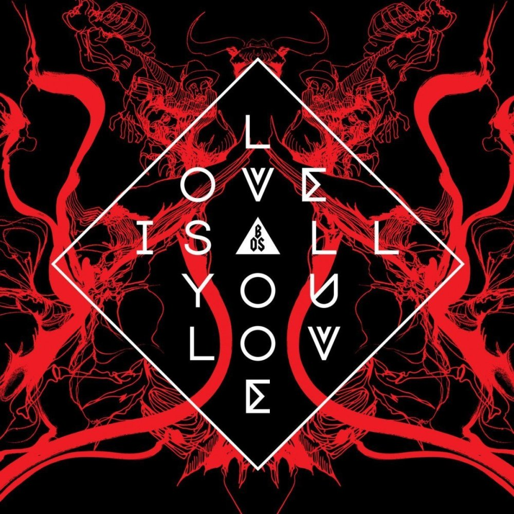 LOVE IS ALL YOU LOVE album cover - band of skulls 2019
