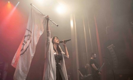 Dutch symphonic metal band Within Temptation performing at The Vogue Theatre in Vancouver, BC on March 15th, 2019