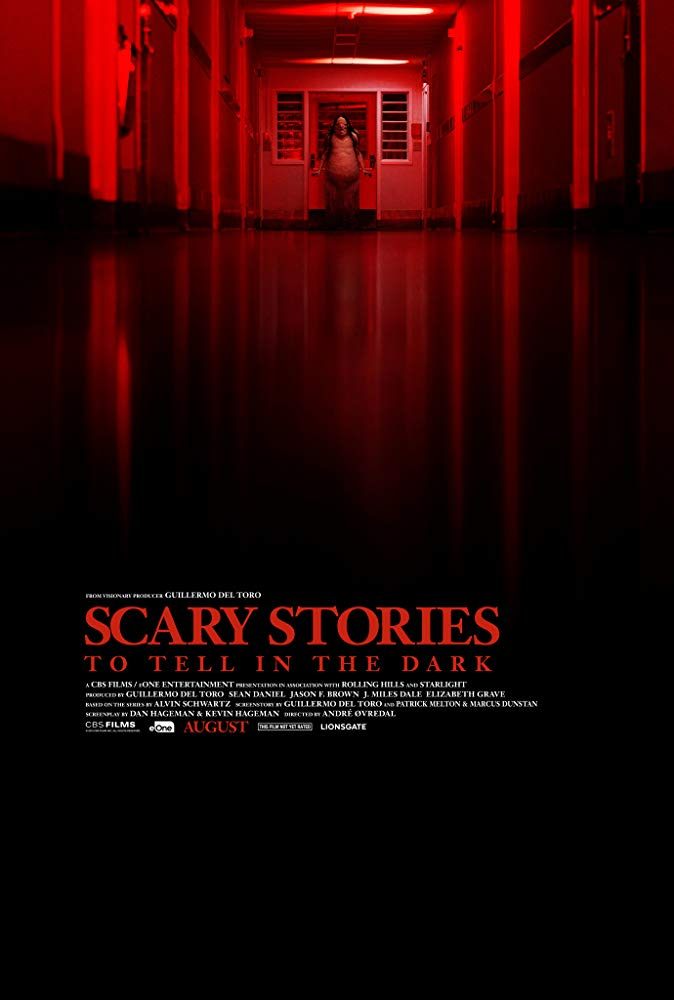 Scary Stories To Tell In The Dark 2019 official movie poster