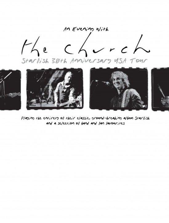 The Church 2019 US Tour banner