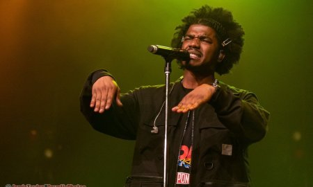 St. Louis rapper Smino performing at The Vogue Theatre in Vancouver, BC on April 5th 2019