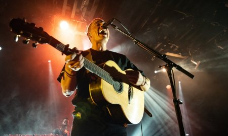 Irish singer Dermot Kennedy performing at the Commodore Ballroom in Vancouver, BC on April 3rd, 2019