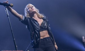 Canadian msuciain Emily Haines of Metric performing at the Pacific Coliseum in Vancouver, BC on April 18th 2019
