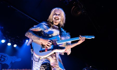 American guitarist John 5 performing at the Rickshaw Theatre in Vancouver, BC on March 31st, 2019