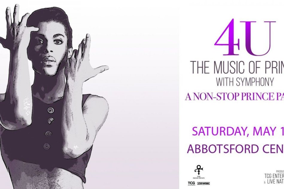 4U: The Music of Prince with Symphony at Abbotsford Centre 2019