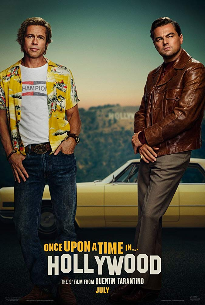 Once Upon a Time In Hollywood [2019] - Official poster